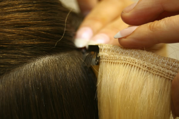 Clip on extension is the answer to womenrsquos short hair problems another reason why clip on type of hair extension is in demand is the less possibility of hair damage this product is safe to the hair as it does not solutioingenieria Images